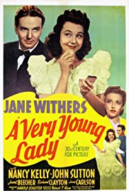 A Very Young Lady Poster
