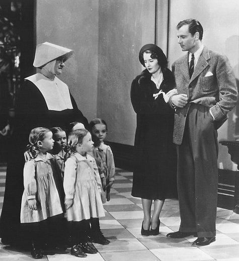 Barbara Stanwyck and Joel McCrea in Internes Can't Take Money (1937)