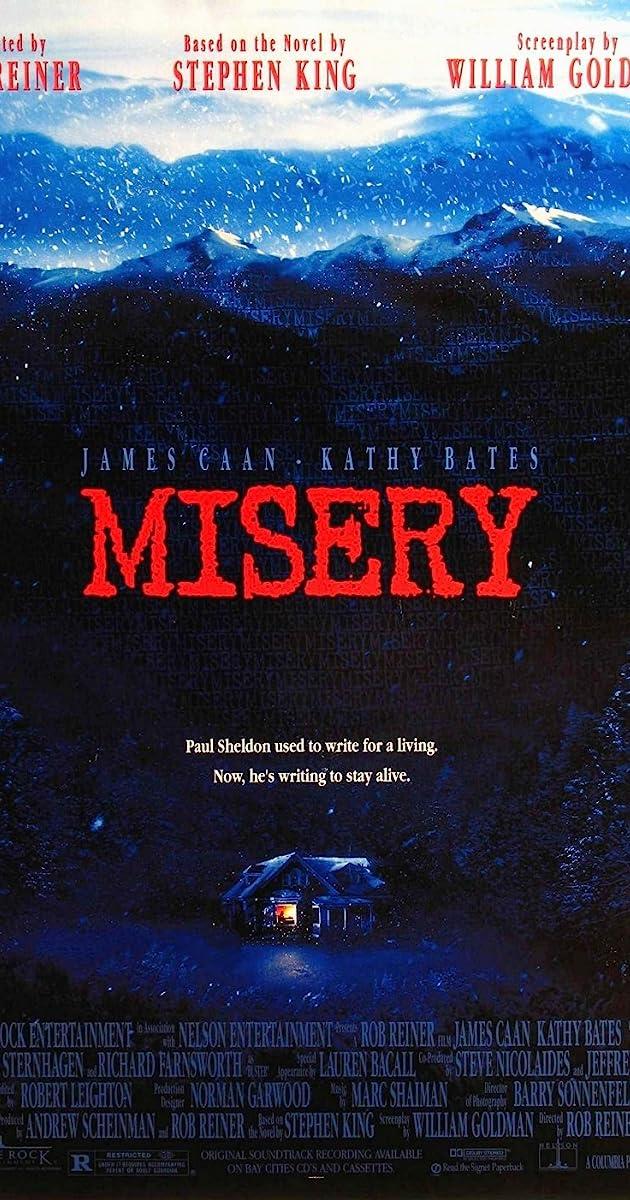 Mizerė / Misery (1990) Online