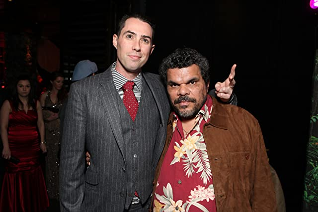 Luis Guzmán and Brad Peyton at Journey 2: The Mysterious Island (2012)