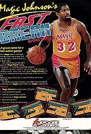 Magic Johnson's Fast Break Poster