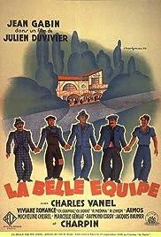 La belle équipe Poster