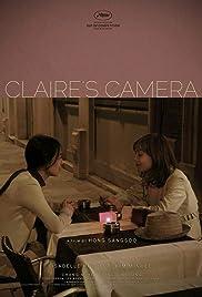 La caméra de Claire Poster
