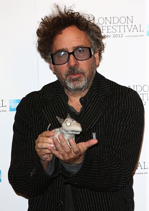 Tim Burton at Frankenweenie (2012)