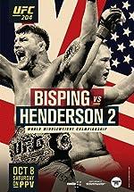 UFC 204 Bisping vs Henderson 2(2016)