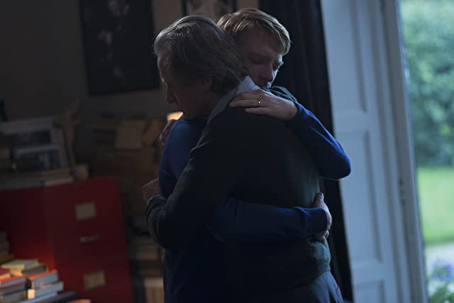 Bill Nighy and Domhnall Gleeson in About Time (2013)