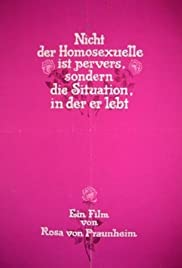 It Is Not the Homosexual Who Is Perverse, But the Society in Which He Lives Poster