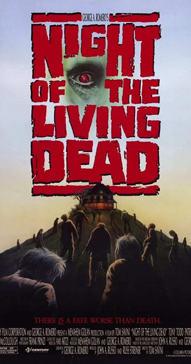 Gyvųjų numirėlių naktis / Night of the Living Dead (1990) Online