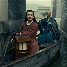 Shôta Sometani and Xuan Huang in Legend of the Demon Cat (2017)