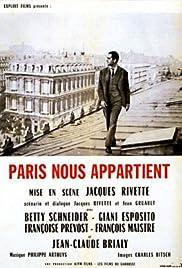 Paris Belongs to Us(1961) Poster - Movie Forum, Cast, Reviews