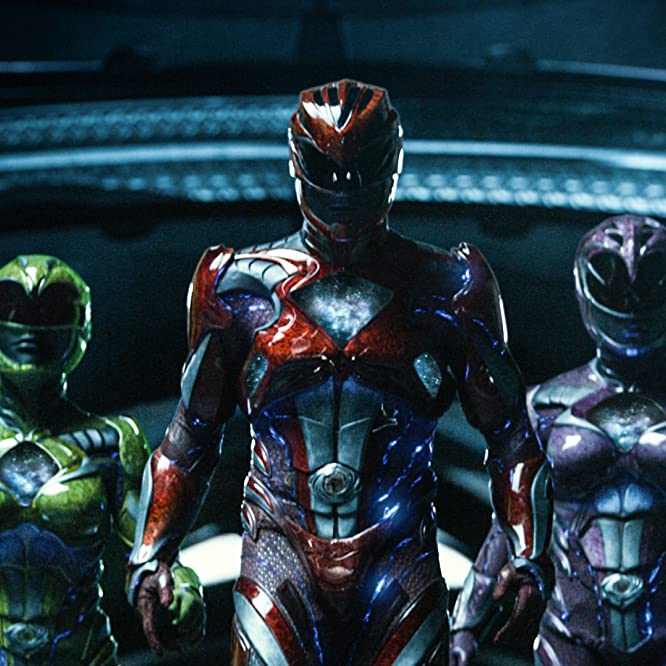 Becky G., Dacre Montgomery, Naomi Scott, Ludi Lin, and RJ Cyler in Power Rangers (2017)