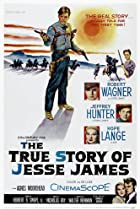 The True Story of Jesse James (1957) Poster