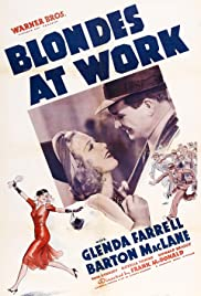 Blondes at Work Poster