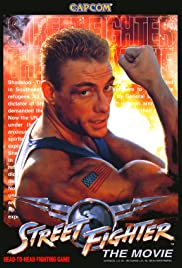 Street Fighter: The Movie (1995) Poster - Movie Forum, Cast, Reviews