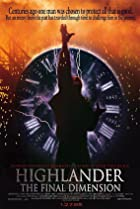 Image of Highlander: The Final Dimension