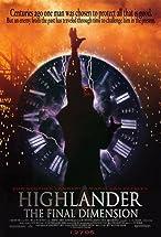 Primary image for Highlander: The Final Dimension