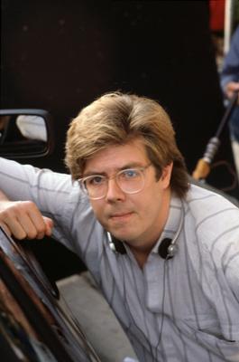 Director John Hughes circa 1980s