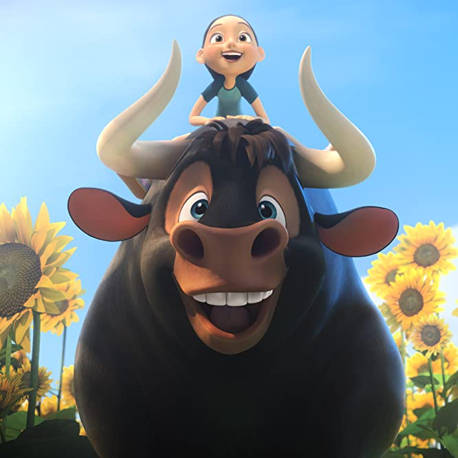 John Cena and Lily Day in Ferdinand (2017)