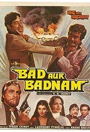 Bad Aur Badnaam Poster