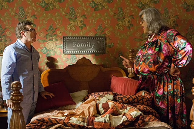 Eugene Levy and Tyler Perry in Madea's Witness Protection (2012)