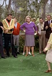 Lucy Takes Up Golf Poster