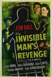 The Invisible Man's Revenge (1944) Poster - Movie Forum, Cast, Reviews