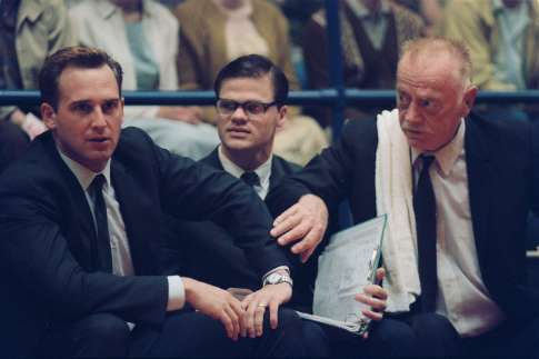 Josh Lucas and Red West in Glory Road (2006)