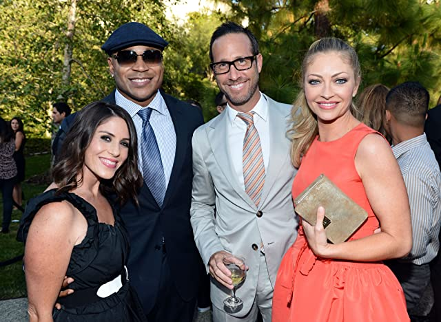 Rebecca Gayheart, Soleil Moon Frye, LL Cool J, and Richard Weitz