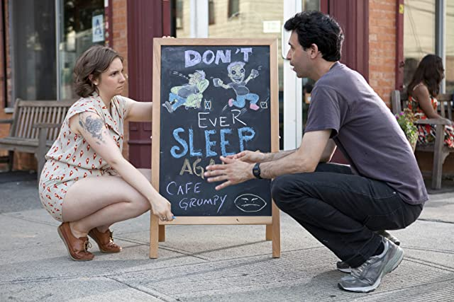 Alex Karpovsky and Lena Dunham in Girls (2012)