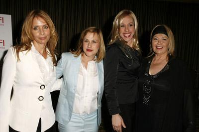Patricia Arquette, Rosanna Arquette, Alexis Arquette, and Roseanne Barr