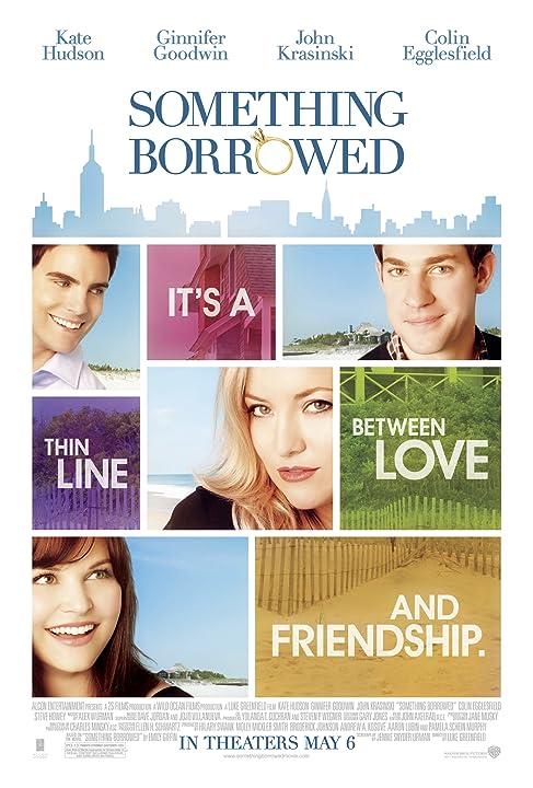 Kate Hudson, Ginnifer Goodwin, John Krasinski, and Colin Egglesfield in Something Borrowed (2011)