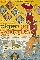 Image of Pigen og vandpytten