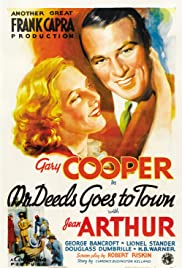 Mr. Deeds Goes to Town (1936) Poster - Movie Forum, Cast, Reviews