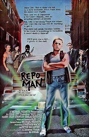 Poster Repo Man