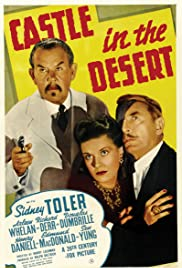 Castle in the Desert (1942) Poster - Movie Forum, Cast, Reviews