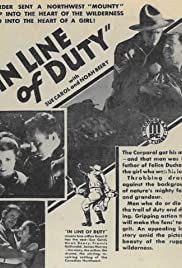 In Line of Duty Poster