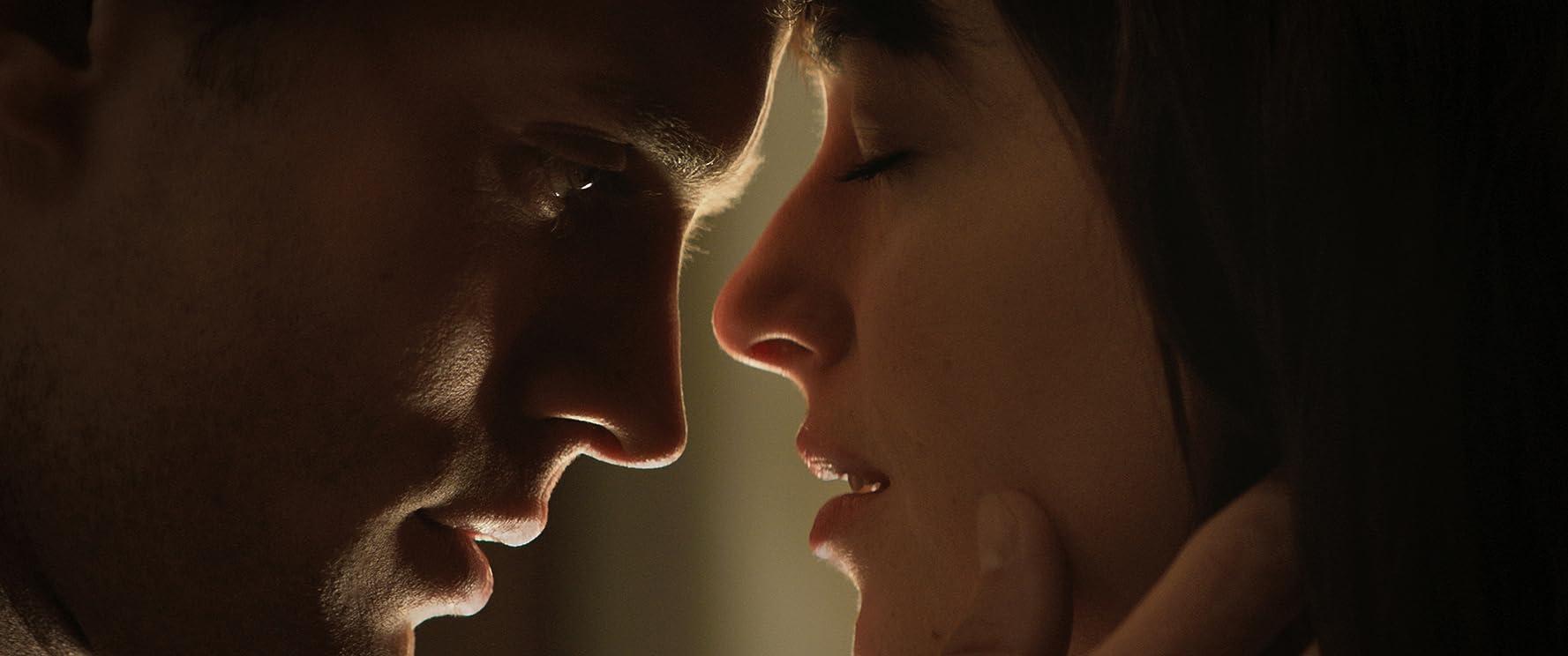 Dakota Johnson and Jamie Dornan in Fifty Shades of Grey (2015)