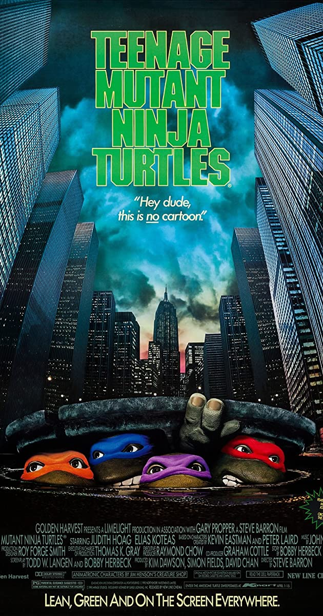 Vėžliukai nindzės / Teenage Mutant Ninja Turtles (1990) Online