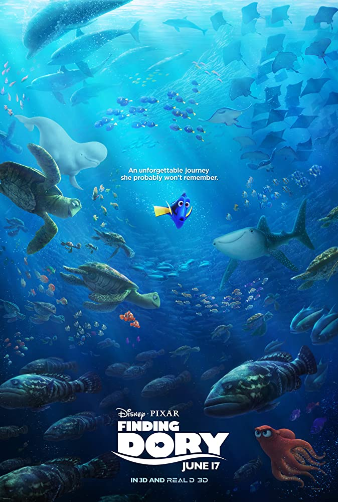 Finding Dory 2016 Hindi Dual Audio 720p BluRay x264 700MB