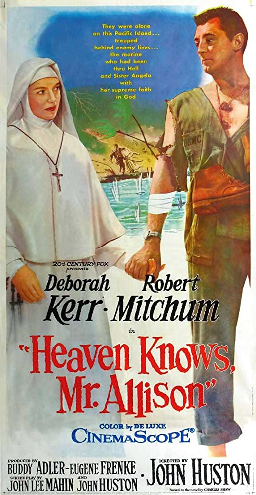 Dievas žino, pone Alisonai / Heaven Knows, Mr. Allison (1957)