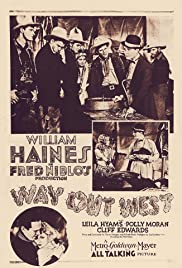 Way Out West (1930) Poster - Movie Forum, Cast, Reviews