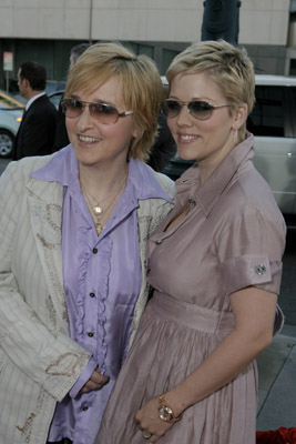Melissa Etheridge and Tammy Lynn Michaels at Sicko (2007)