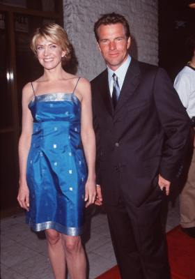 Dennis Quaid and Natasha Richardson at an event for The Parent Trap (1998)