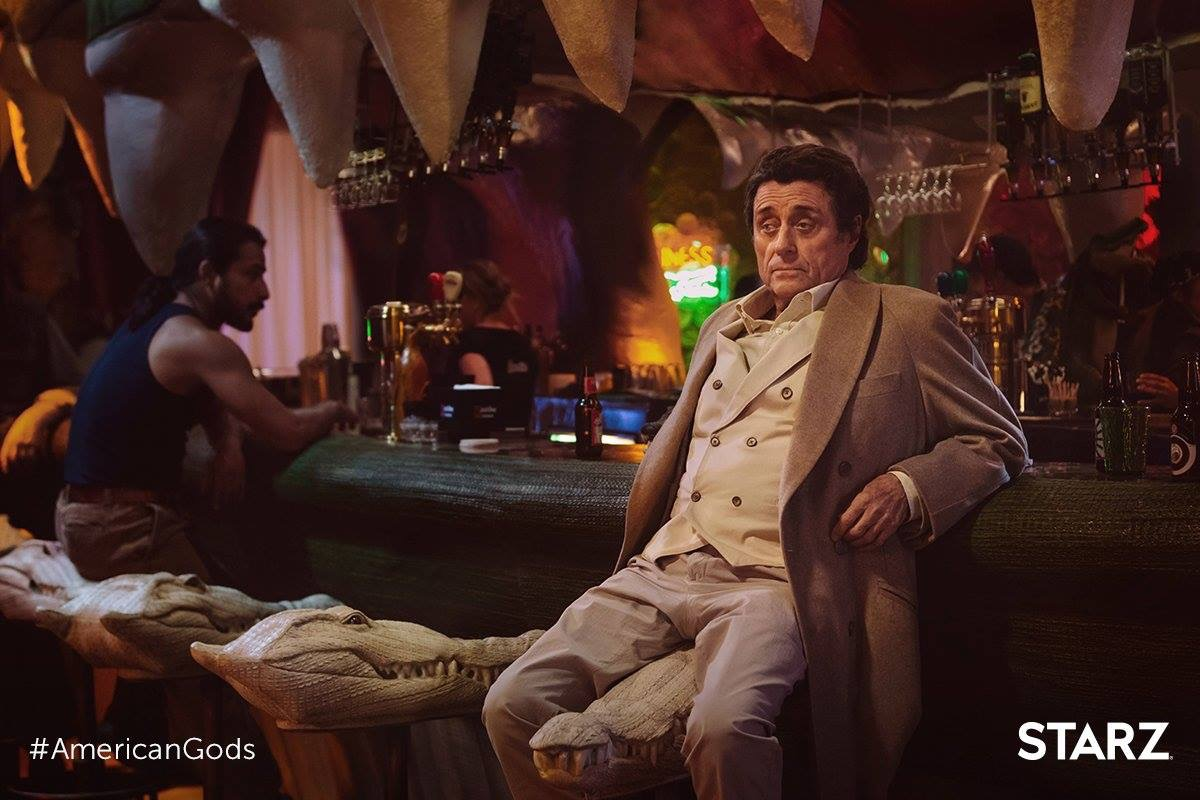 Mr. Wednesday devising a plan (American Gods)