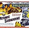 Paul Dubov, Dick Foran, Arthur Franz, Brett Halsey, and Joi Lansing in The Atomic Submarine (1959)