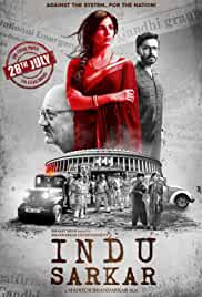 Indu Sarkar 2017 Hindi HDRip 480p 375MB MKV
