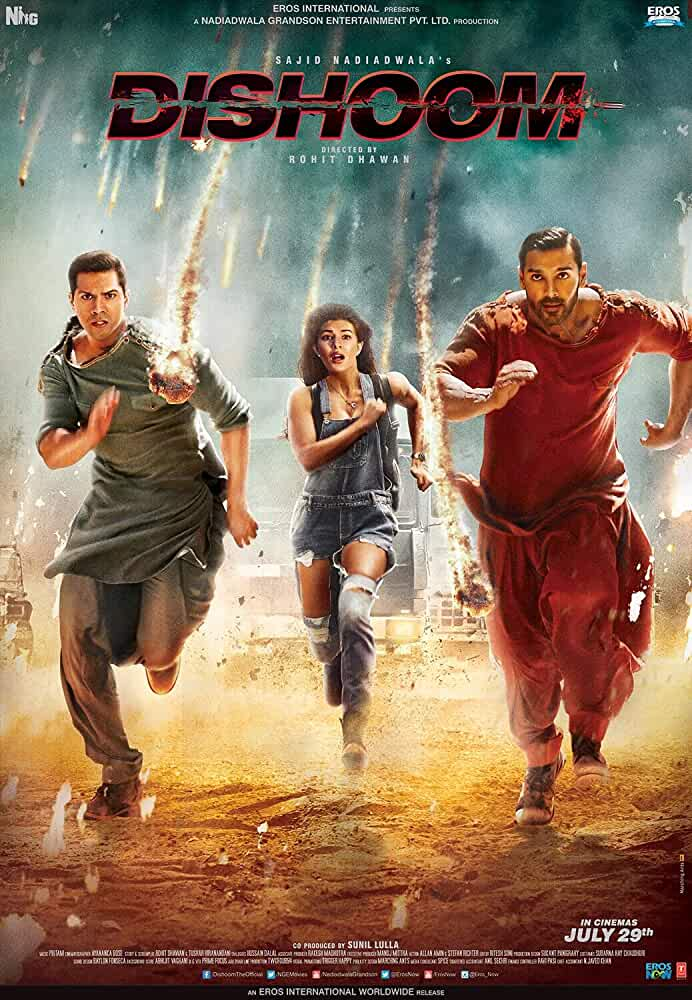 Dishoom 2016 Full Hindi Movie Download 720p BluRay full movie watch online freee download at movies365.org