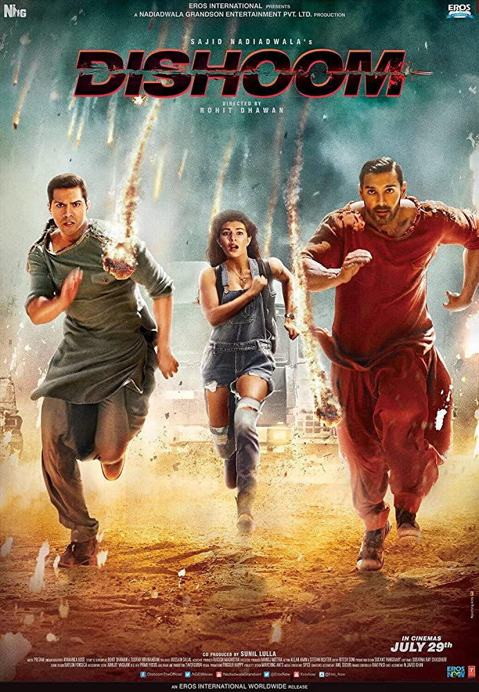 Dishoom 2016 Hindi 720p HDRip AAC 2.72 GiB