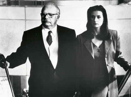 Allan Rich and Demi Moore in