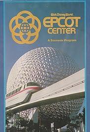 Walt Disney World EPCOT Center: A Souvenir Program Poster